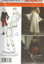 Gothic Arkivestry Costume Misses size 6-12 Simplicity 2777 Sewing Pattern