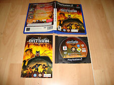 BATMAN RISE OF SIN TZU DE UBISOFT PARA LA SONY PLAY STATION 2 PS2 USADO COMPLETO