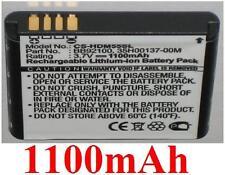 Batería 1100mAh tipo 35H00137-00M BB92100 para HTC A6366