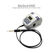 Dental Lab Digital Single Wax Caver with 1 pen and 2 tips Besqual E420