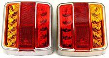 2 Luxus LED Anhänger Rücklicht E11 Rückleuchten Licht  Anhängerbeleuchtung
