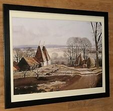 Early Morning Shadows - Rowland Hilder print - 20''x16'' frame, Country wall art