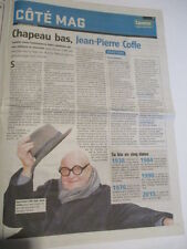JOURNAL DU DECES DE : JEAN-PIERRE COFFE 31/03/2016