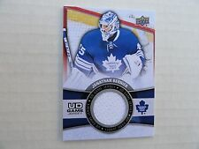 Jonathan Bernier 2015/16 Upper Deck Game Jersey Card