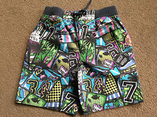 NEXT Boys Multi Grafitti Print Shorts 2-3 Years