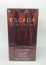 Sentiment Pour Homme By Escada 1.0 oz / 30 ml Eau De Toilette Men Cologne Spray