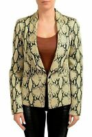 Just Cavalli Multi-Color One Button Women's Blazer US S IT 40
