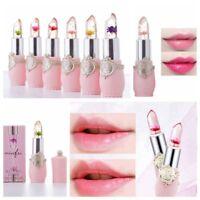 Flower Lipstick Magic Color Temperature Change Flower Jelly Lipstick Transparent