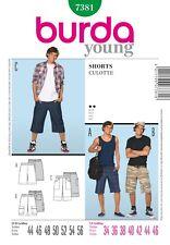 Burda Young Schnittmuster - Shorts, Hose, Freizeit-Hose - Nr.7381