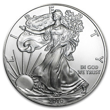 2010 1oz American Eagle Silver Dollar Coin Brilliant Uncirculated Mint Direct