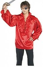 Rubie's Costume Pirates Of The Seven Seas¿ Red Satin Pirate Shirt - Adult