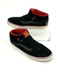 Vans x Spitfire TNT Five  Mids Black Suede Mens Size 9 US Pro SkateBoard Sneaker