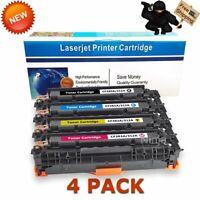 4 Pack CF380A Color Toner Set for HP 312A Laserjet Pro MFP M476dn M476dw M476nw