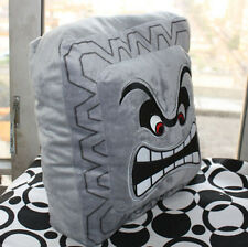 "Super Mario Bros 12"" Thwomp Dossun Pillow Plush Soft Toy Cushion Doll Size L"
