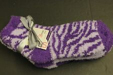 3 pair FASHION FUZZY SOFT  socks 9-11 SHOE 4 TO 9 Crew  VERY soft  CASUAL 1pur