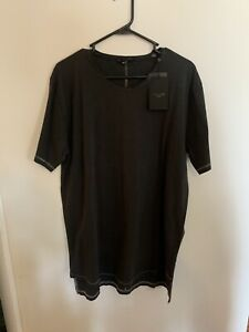 NWT Men's ONLY & SONS Black Short Sleeve T Shirt Size XL