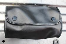 Harley Motorcycle Tool Pouch Tool Bag Windshield Bag Custom Chopper Black (484)