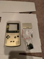 Gold Replacement Housing Shell Nintendo Gameboy Color GBC GET IT FAST
