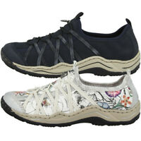 Rieker Scuba Women Slipper Damen Antistress Schuhe Sneaker Halbschuhe L0559