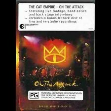 - THE CAT EMPIRE ON THE ATTACK (DVD & CD) ALL REGIONS [BRAND NEW] NOW $29.75