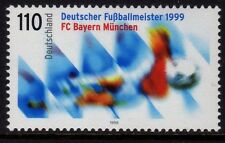 Germany 1999 FC Bayern Munich - German Football Champions 1999 SG 2923 MNH