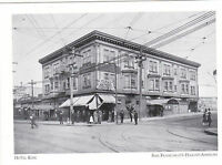 "~Post Card~""Hotel Kirk"" (Stanyuan-Haight Till 1916)*S.F.'s Haight-Ashbury (A21-3"