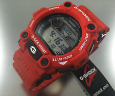 NIBWT Casio G Shock Digital Rescue Tide Moon G7900A-4 RED Watch