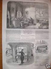 Baron Von Humboldt & new GPO weighing machine 1856