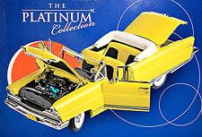 Lincoln Premiere Convertible open 1956 gelb yellow 1:18 Sun Star Platinum Coll