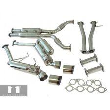 For 03-07 Nissan 350Z Z33 Infiniti G35 2DR Coupe 3.5L V6 VQ35DE Catback Exhaust