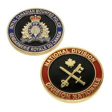 RCMP Police Challenge Coin National Division Royal Canadian Mounted Police