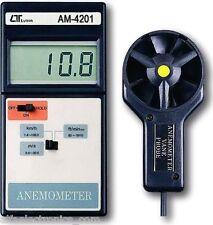 New Digital Anemometer Runner-type Air/Wind Meter Anemograph LUTRON AM-4201