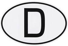 Diez 10 trozo de Alemania D-escudo d Pegatina Sticker 76 x 52 mm HR 36359 Art.