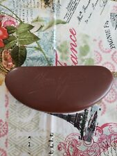 ~~~~MAUI JIM~~~~BROWN CLAM STYLE GLASSES CASE------ Hard Case ONLY