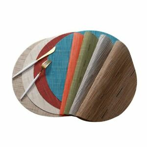 Round Coasters Durable Pads Non-slip Table Placemats Home Kitchen Accessory Mats