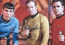 12x8 (A4) Photo Personally Autographed by William Shatner & COA