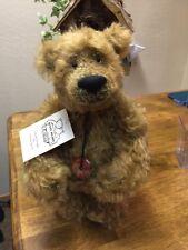 """NEW Beautiful Handmade Artist Bear by Sharon Queen, 12"""" JIMMY"""