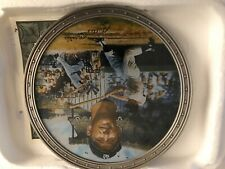 """Mickey Mantle """"Bronx Bomber"""" Collector's Plate w/ Coa #6998B"""