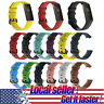 USA For Fitbit Charge 3 Replacement Silicone Bracelet Wrist Watch Band Strap e0