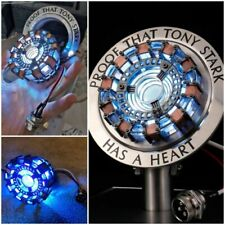 Iron Man 1:1 MK1 LED Arc Reactor with Touch Activated Display Case - UK Seller!