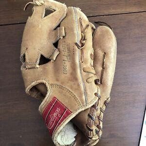 Vintage Rawlings KM10 Deepwell Pocket Mr. Softball Big Wheel Right Thrower Glove