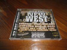 BRAND NEW WEST - West Coast Rap CD - KURRUPT Gutta Boy Family YUNG BERG Kadesha