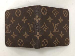Authentic LOUIS VUITTON Porte Billet Cartes Credit wallet Purse M61665 Monogram