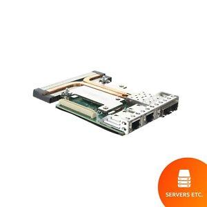 DELL INTEL X520 I350 QUAD PORT 1GB/10GB SFP+ NETWORK DAUGHTER CARD - C63DV
