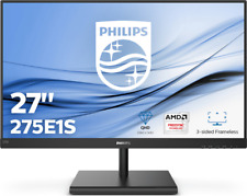 Philips Monitor E-Line 275E1S LED-Display 68,6 cm 27 Zoll schwarz QHD IPS-Panel