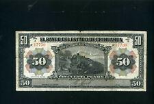 Mexico Chihuahua 50 pesos 1913 - F/VF