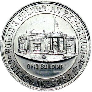 1893 Chicago Illinois Hamilton Ohio Columbian Expo So Called Dollar Ritchie R5