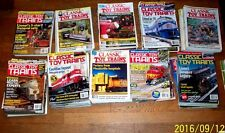 Classic Toy Trains/15or16 BackIssues 1995-96or97-98/Pick 2YearPeriod/Quan=2all31