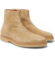 NIB Common Projects Suede Zip Boots Limited Edition (Made in Italy) RRP $650