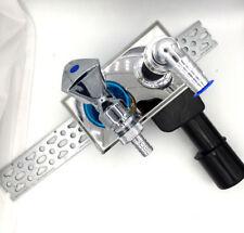 Haas PE Unterputz Geräte Siphon DN40/50 Waschmaschinenanschluss + Geräteventil